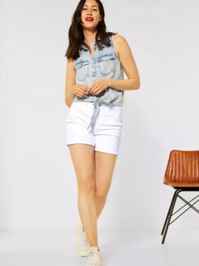 Street One - Style QR Kate shorts hw white